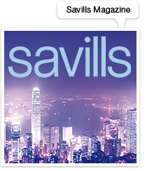 Savills Magazine website